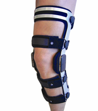knæskinne til ski løb - knæskiskinne