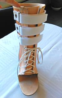 ankelbandage fodkapsel