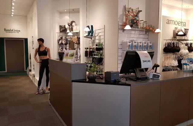 Slagelse butikken indendørs