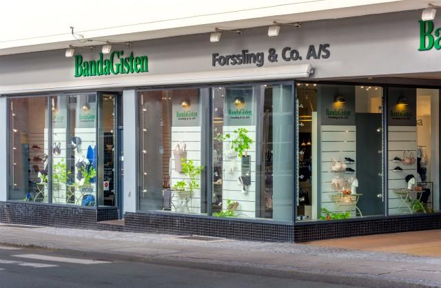 slagelse butik facade